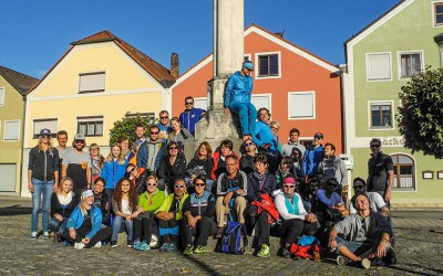 Company outing to Altmühltal